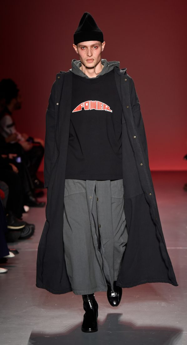 Willy Chavarria Men's Fall 2018