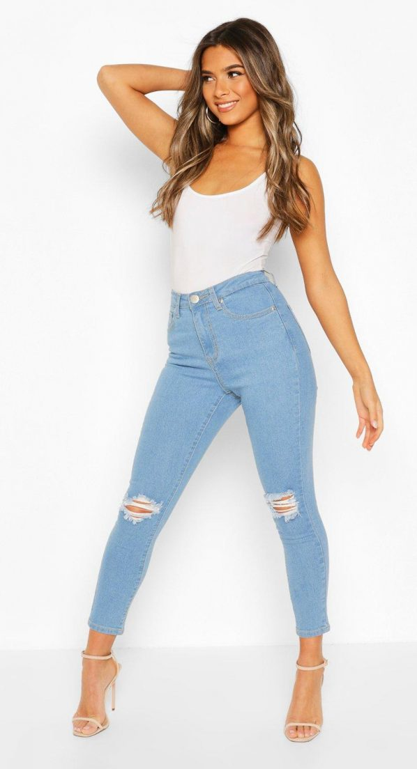 light-blue-petite-high-waist-skinny-distressed-jean